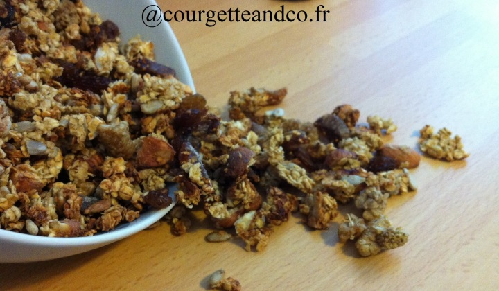 Granola aux fruitsséchés