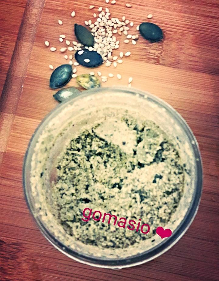 Gomasio aux graines decourges