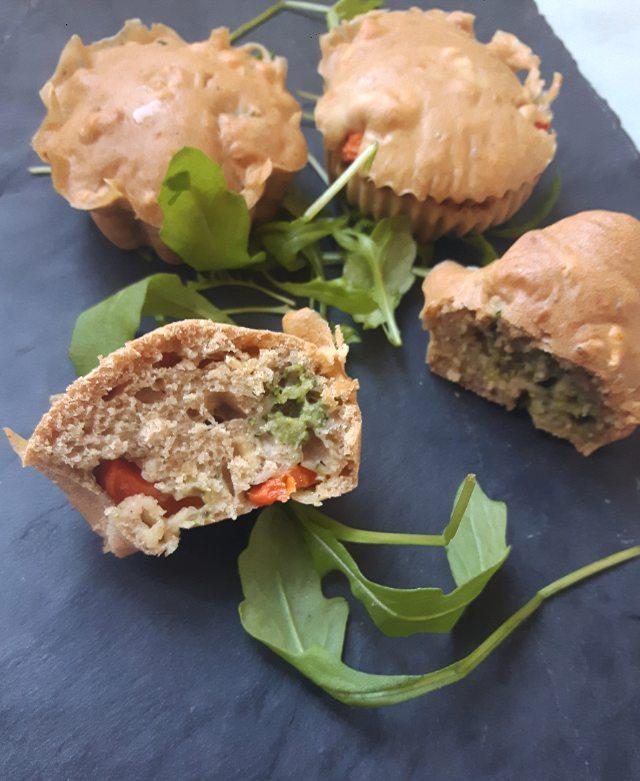 Muffins salés aubrocolis