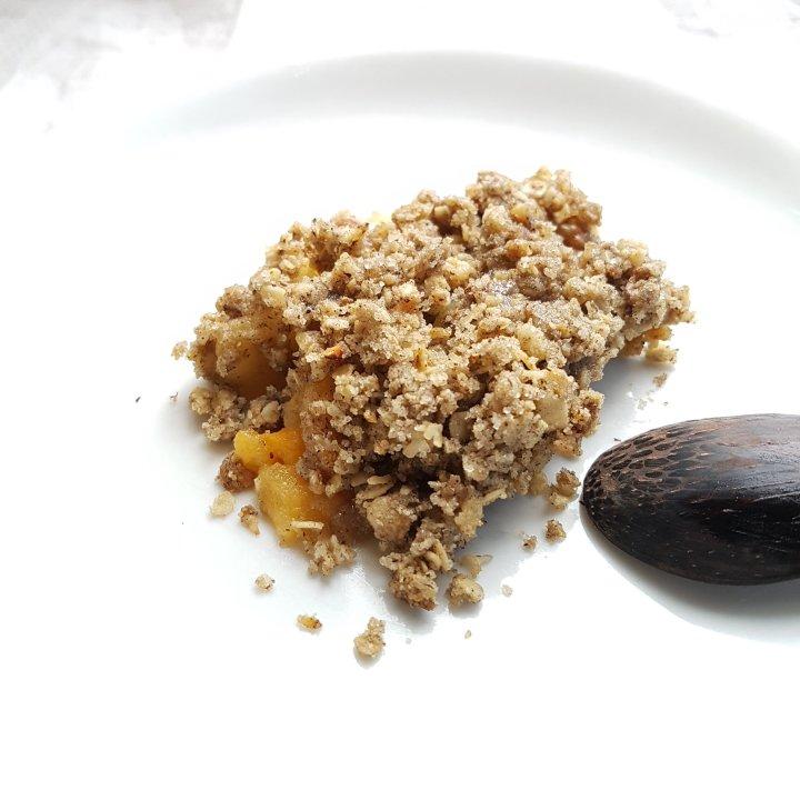 Crumble de blé noir aukaki