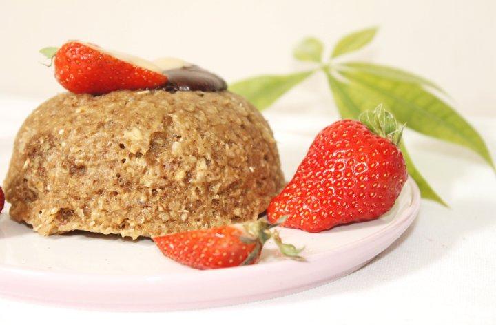 Bowlcake aux flocons dequinoa