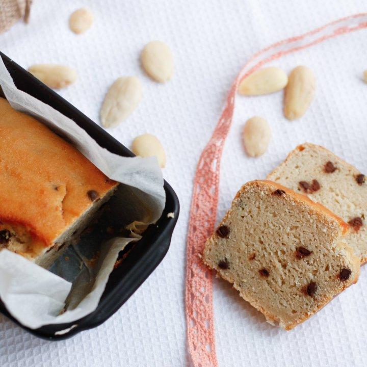 Cake amandine aux pépites dechocolat